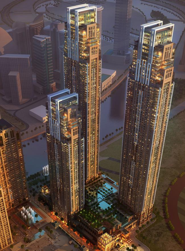 Al Habtoor City Residences - Sheikh Zayed Road, Dubai (ongoing)